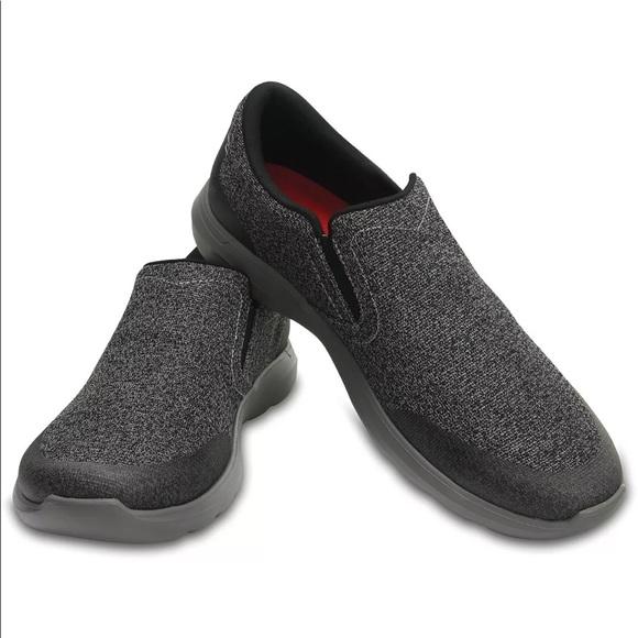 283f64b20964 Crocs kinsale static slip on men size 9